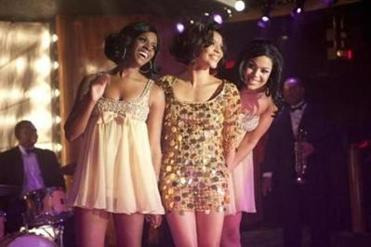 "From left: Tika Sumpter, Carmen Ejogo, and Jordin Sparks in ""Sparkle."""